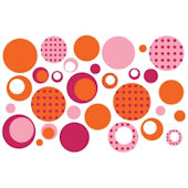 Olee Kids Dots  Deco Pack Peel and Stick