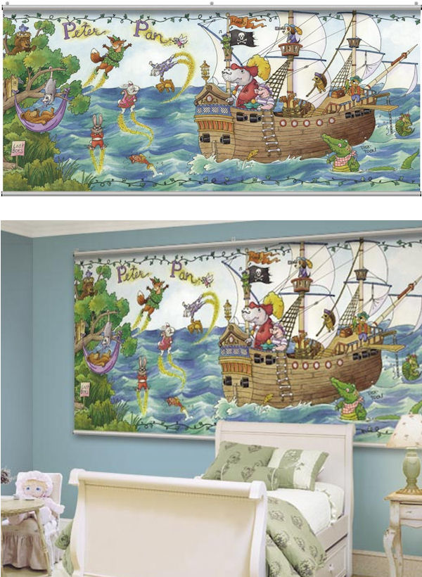 Once Upon a Time Peter Pan Wall Minute Mural - Wall Sticker Outlet