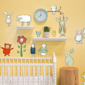 Creative Critters Peel and Place Wall Decals