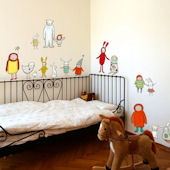 Cute Critters Peel and Place Wall Decals