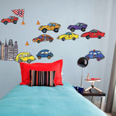 Rumble Honk Beep Peel and Place Wall Decals