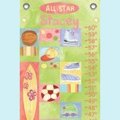 Canvas All Star Girl Growth Chart