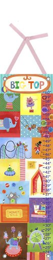 Canvas Big Top Growth Chart - Wall Sticker Outlet
