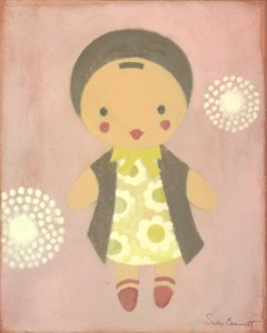 Doll Baby Wall Canvas Art - Wall Sticker Outlet