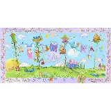 Fairy Laundry Wall Canvas Art