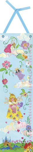 Canvas Fairy Princess Growth Chart - Wall Sticker Outlet