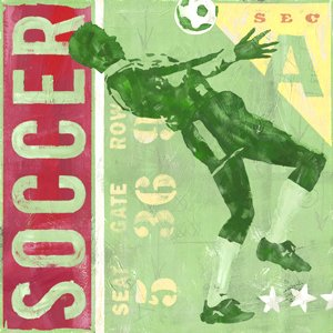 Game Ticket  Soccer Wall Canvas Art - Wall Sticker Outlet