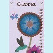 Canvas Hummingbird Growth Chart