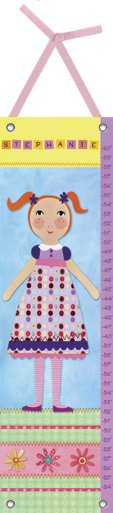 Canvas My Girl Two Growth Chart - Wall Sticker Outlet