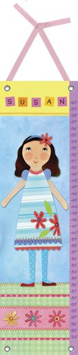 Canvas My Girl Four Growth Chart - Wall Sticker Outlet