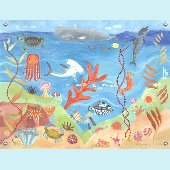 Ocean World Wall Mural