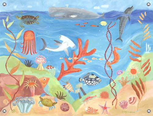 Ocean World Wall Mural - Kids Wall Decor Store