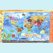 Our World Wall Mural