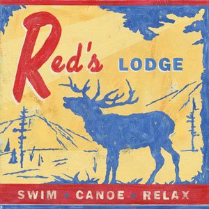 Reds Lodge Wall Canvas Art - Wall Sticker Outlet