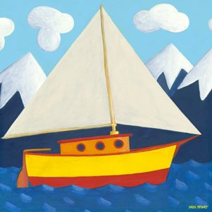 Sailing Sailing - Kids Wall Decor Store