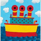 Tugboat Wall Canvas Art