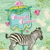 Believe and Embrace Canvas Wall Art