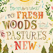 Fresh Woods and Pastures Posters That Stick