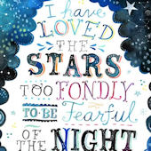 I Have Loved Stars Posters That Stick Wall Decal
