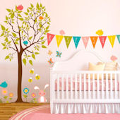 Rise and Shine Tree Wall Decals