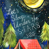 Lets Sleep Under The Stars Posters That Stick