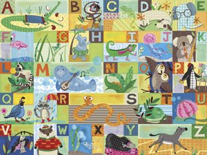 ABC Animal Action - Kids Wall Decor Store