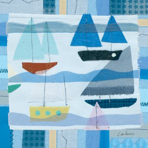 Blue Sail Boats - Kids Wall Decor Store
