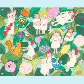 Busy Fairies Wall Mural