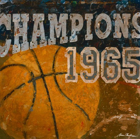 Champions Basketball Wall Canvas Art - Wall Sticker Outlet