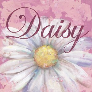 Daisy Wall Canvas Art - Wall Sticker Outlet