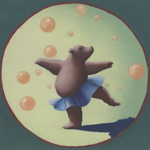 Dancing Bears - Wall Sticker Outlet