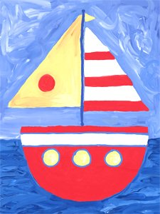 Float a Boat - Kids Wall Decor Store