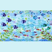 Friendly Fish Wall Mural