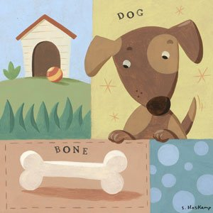 Give a Dog a Bone - Kids Wall Decor Store