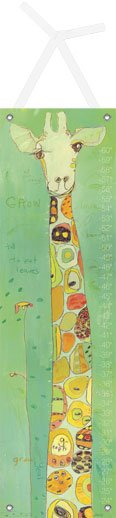 Grow Growth Chart - Wall Sticker Outlet