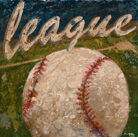 League Baseball Wall Canvas Art - Wall Sticker Outlet