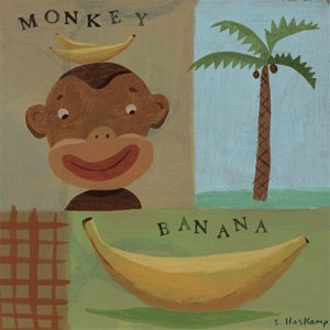 Nana Monkey - Kids Wall Decor Store