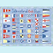 Nautical Flags Wall Mural