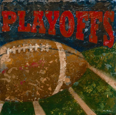 Playoffs Football Wall Canvas Art - Wall Sticker Outlet