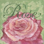 Rose Wall Canvas Art