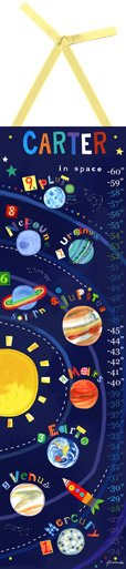 Solar System Growth Chart - Wall Sticker Outlet
