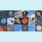 Space Exploration Wall Mural
