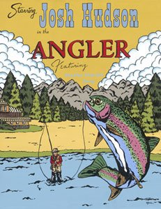 The Angler Wall Canvas Art - Wall Sticker Outlet