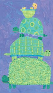 Turtle Stack - Wall Sticker Outlet