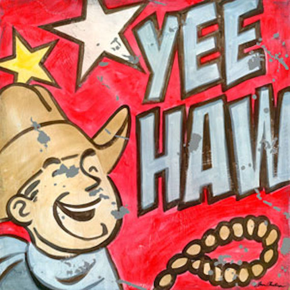 Yeehaw Wall Art - Wall Sticker Outlet