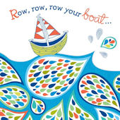 Row Your Boat Canvas Wall Art