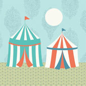 Circus Tent Canvas Wall Art