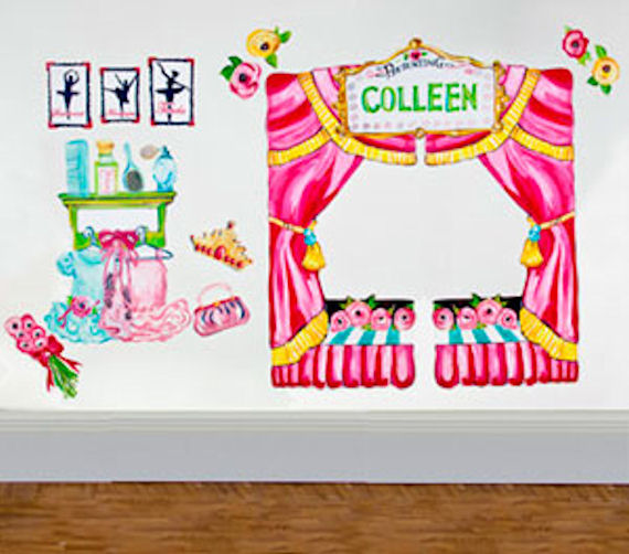 Ballet Recital Peel and Place - Wall Sticker Outlet