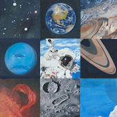 Space Exploration Canvas Wall Art