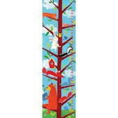 Bear Story Hour Canvas Growth Chart